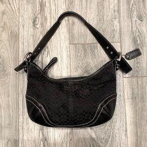 "Coach Mini Hobo Handbag with Classic ""C"" Authentic"